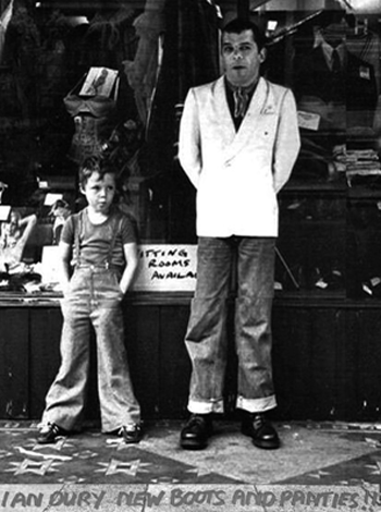 Chaz Jankel and Ian Dury