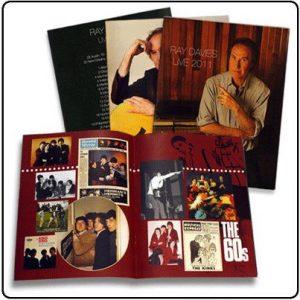 Ray Davies tour programme